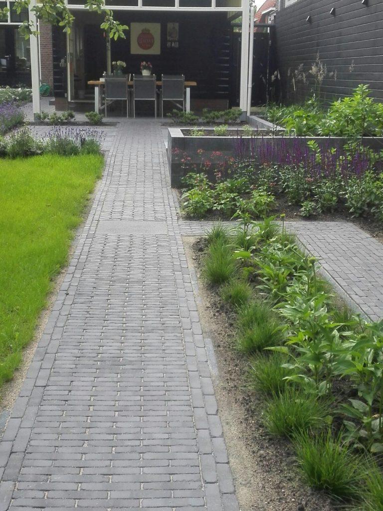 Renovatie achtertuin statig herenhuis